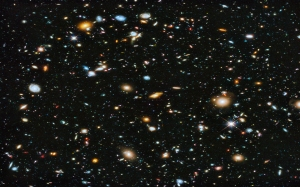 Hubble Deep Space - enhanced photo from NASA