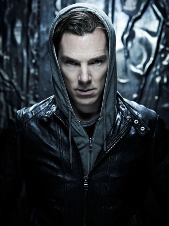 Cumberbatch as Khan